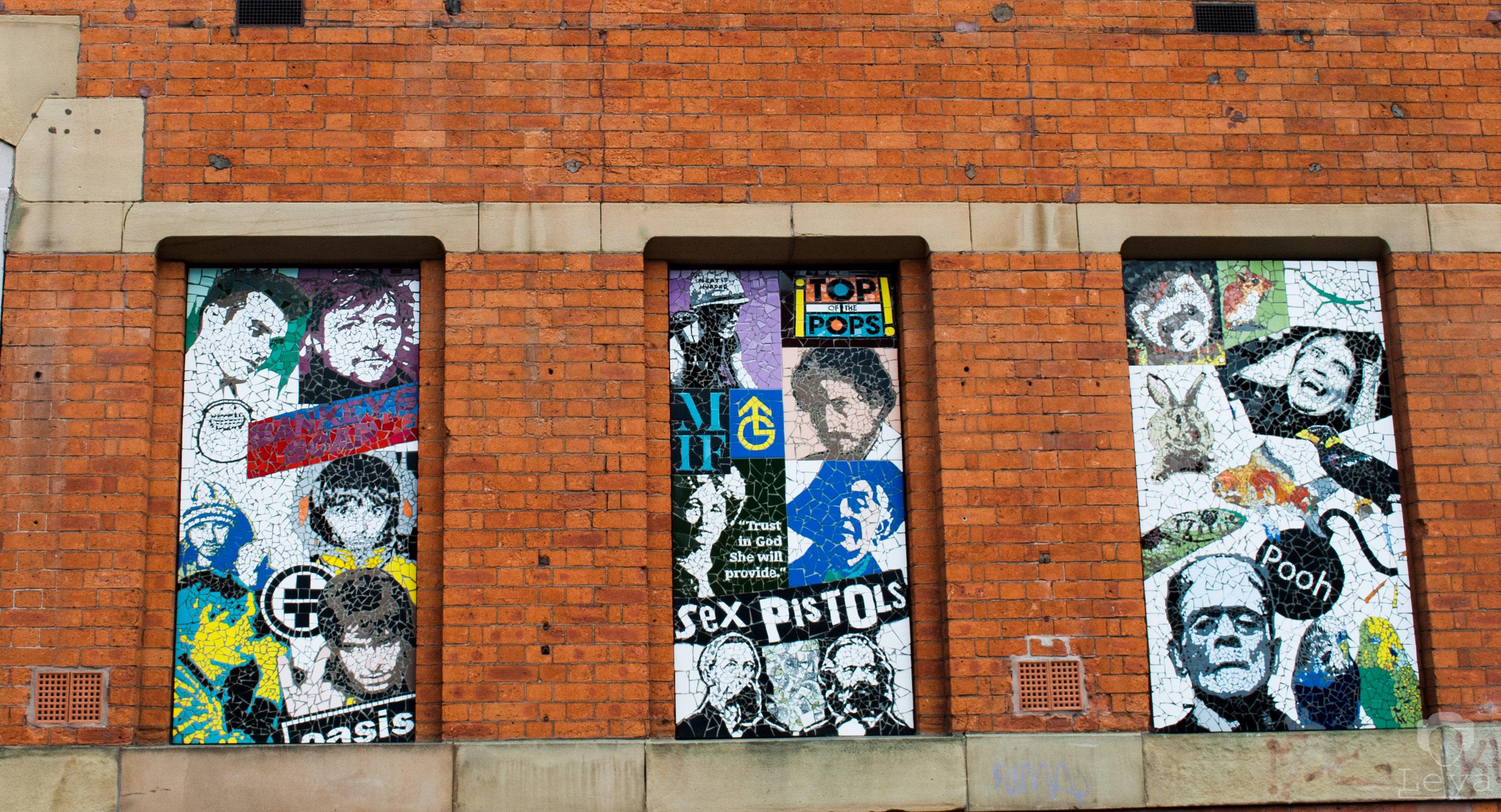 Manchester #streetarttrip fot. Joanna Leja